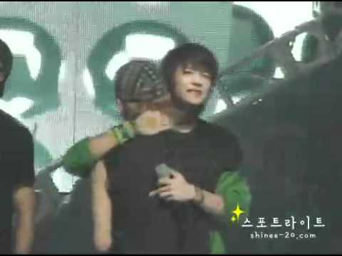 090605 Fancam SHINee Key crying @ Juliette Winning &  Encore