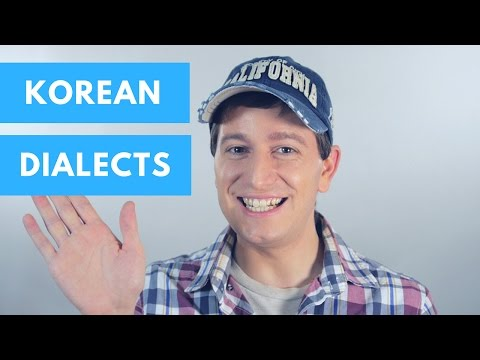 The Different Dialects of Korean - 미국인의 한국 사투리 소개