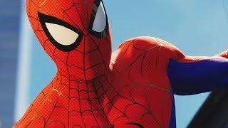 UNLOCKING INTO THE SPIDER-VERSE SUIT in SPIDER-MAN PS4 Walkthrough Gameplay (Marvel's Spider-Man)