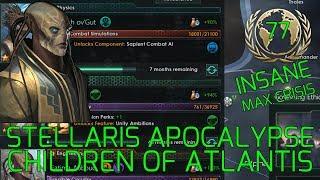 Great New Techs :-) - Stellaris Apocalypse Roleplay CHILDREN OF ATLANTIS Grand Admiral Insane #77