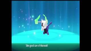 Pokemon lets go shiny alolan marowak floyt?
