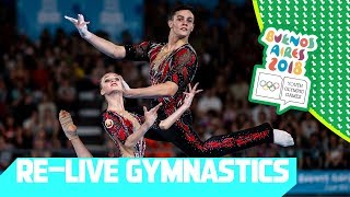RE-LIVE | Day 09: Artistic Gymnastics | Youth Olympic Games 2018 |Buenos Aires
