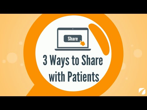 3 Ways to Share With Patients