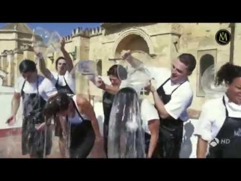 Bodegas Mezquita y el reto del #CubohELAdo en el informativo de Antena 3
