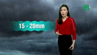 VTC14 | Thời tiết cuối ngày 25/04/2018 | Đêm nay và sáng mai, miền Bắc tiếp tục mưa
