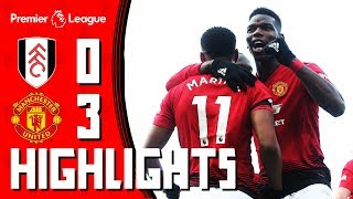 Highlights   Fulham 0-3 Manchester United   Pogba & Martial take the Reds into the Top 4