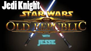 Star Wars: The Old Republic - Beta: Jedi Knight lvl 1 - 5 playthrough w/ commentary