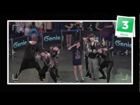 EXO-K _ AR SHOW with Genie(2012.05.12.) _ S03 'Serenade from D.O. & BAEKHYUN DUET' in Seoul, Korea