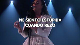 Demi Lovato - Anyone // español (GRAMMYs Performance 2020)