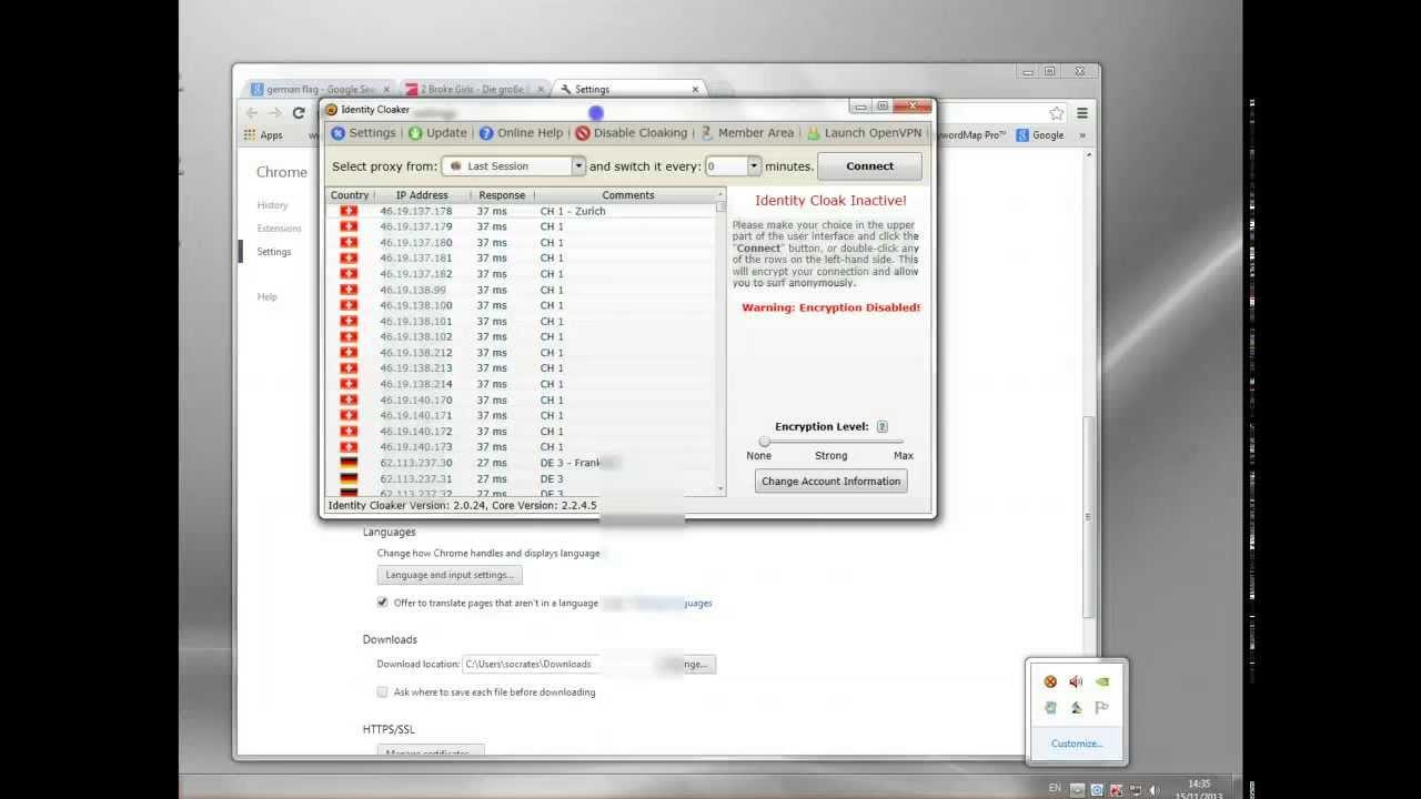 Proxy server deutsche ip