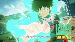 MY HERO ONE'S JUSTICE - Bejelentés Trailer
