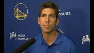 WARRIORS GM BOB MYERS: On Durant, Igoudala and the new look Warriors.