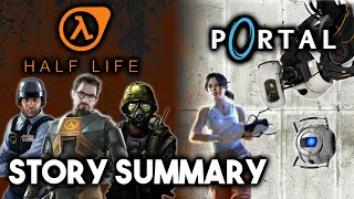 Half-Life & Portal - The Complete Story (What You Need to Know!)