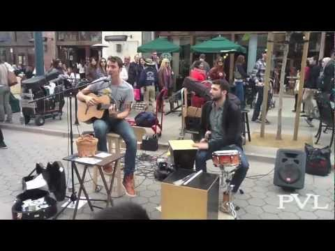 John West performing Lovely on 3rd Street Promenade