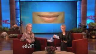 Meryl Streep Kisses and Tells (The Ellen show)