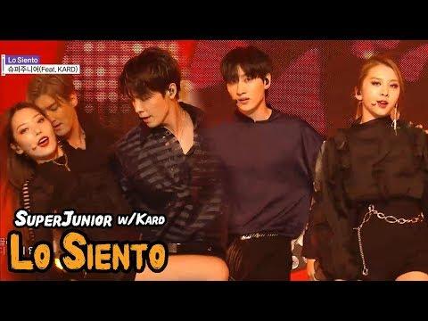 [Comeback Stage] SUPER JUNIOR - Lo Siento, 슈퍼주니어 - Lo Siento(Feat. KARD) Show Music core 20180414