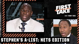 Magic reacts to Stephen's A-List: The top 5 reasons why the Nets were eliminated   First Take