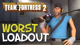 The Worst Loadout In TF2? Flying Scout!