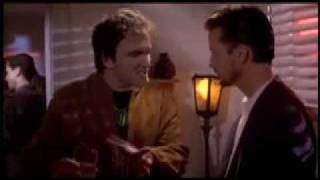 """Tarantino talks about 'Top Gun'. - A clip from the movie """"Sleep with Me""""."""