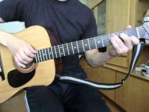 Евгения (Мы расстаёмся навсегда) песня под гитару