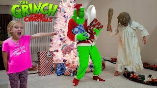 Granny in Real Life vs the Grinch Who Stole Christmas!!!