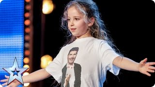 Issy Simpson is a real life Hermione Granger   Auditions Week 2   Britain's Got Talent 2017