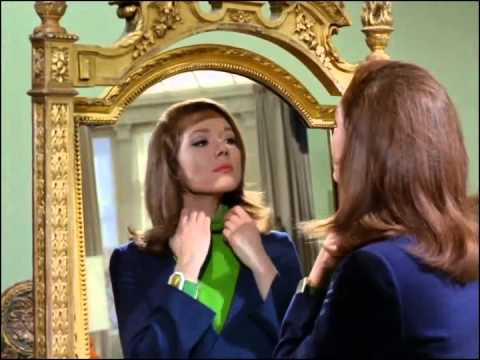 Youtube video - Emma checks her appearance in the mirror; when she moves away, Steed appears in it and softly intones, 'We're needed!'