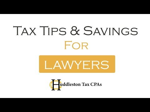 Tax Tips For Lawyers (Small Business Webcast)