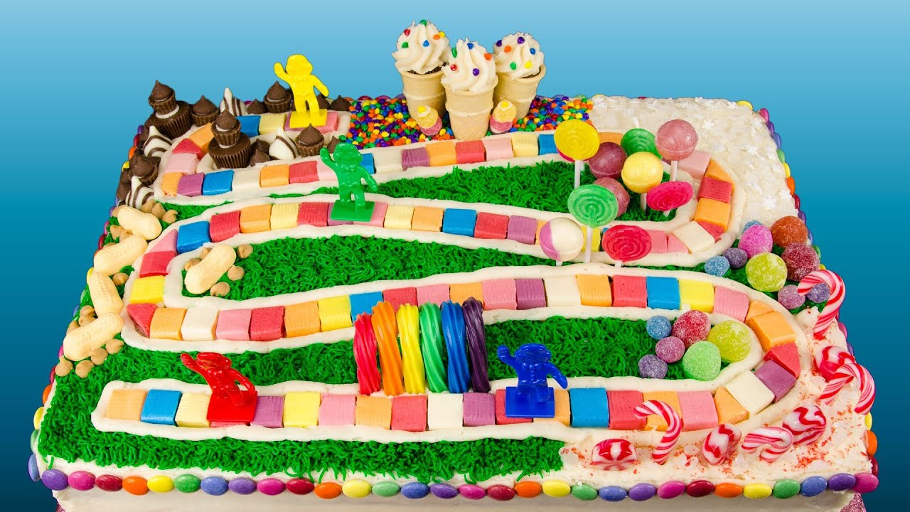 How To Make A Candyland Cake From Cookies Cupcakes And