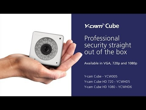 Y-cam Cube - Professional IP Network Camera Overview