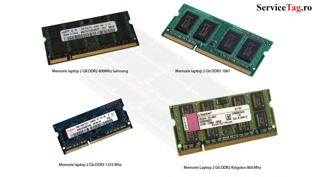 Memorie Ram Laptop Ddr3 Ddr2 Sodimm 2 4 8 Gb Youtube
