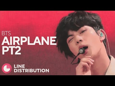 BTS - Airplane pt.2 (Line Distribution)