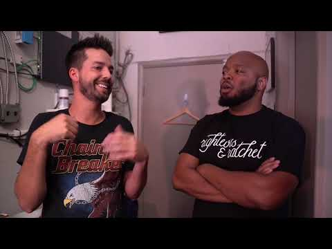 John Crist Performs for All Black Crowd