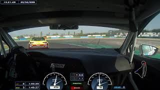 Max Veels Racing: race 1 Supercar Challenge / Magny-Cours