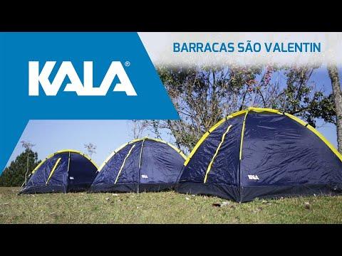 Barraca San Valentin para 4 Pessoas 1,9Kg Kala - Vídeo explicativo