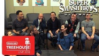 Super Smash Bros. Ultimate - Isabelle & King K. Rool Gameplay - Nintendo Treehouse: Live