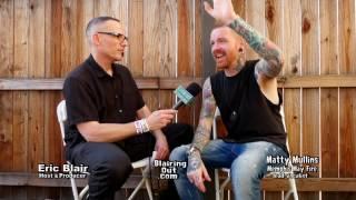 Matty  Mullins & Eric Blair talk about his faith @Warped Tour 2017