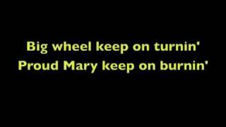 Proud Mary With Lyrics