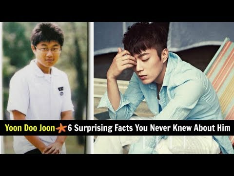 Yoon Doo Joon – 6 Surprising Facts You Never Knew About Him