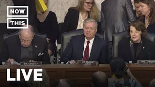 Justice Department Inspector General Horowitz Testifies to Senate | NowThis