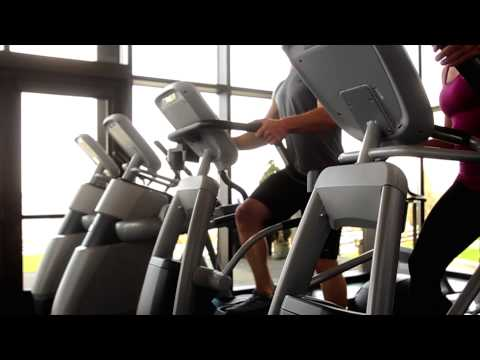 video Precor EFX 225 Energy Series Elliptical Crosstrainer