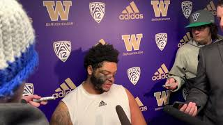 2019 Husky Football Apple Cup postgame with Nick Harris
