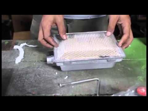 video Gas Brooder with Infrared Functions (1000 and 2000 Chicks Capacity)