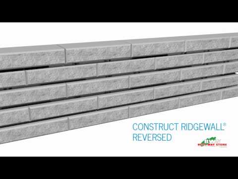 RidgeWall® SRW System - Design Features