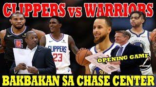BAKBAKAN sa CHASE CENTER | Los Angeles CLIPPERS vs Golden State WARRIORS | Labanang LLAMADO DEHADO