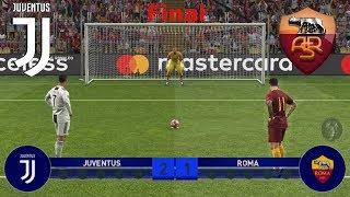 Juventus Vs Roma Finale di Champions League (Calci di rigore)   PES 2019 Patch [Giù]