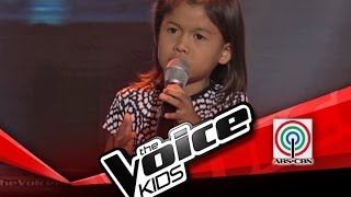 """The Voice Kids Philippines Blind Audition """"Halik"""" by Lyca"""