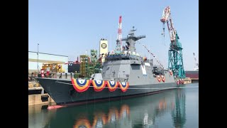 Philippines' most modern warship launched in South Korea