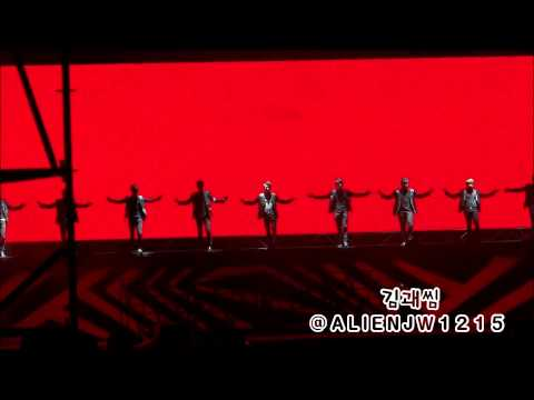 120818 SMTOWN LIVE WORLD TOURⅢ 슈퍼주니어 - SUPERMAN