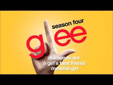 Diamonds Are a Girl's Best Friend / Material Girl - Glee [HD Full Studio]